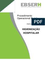 POP Higienização Hospitalar PADRÃO EBSERH