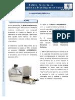 Aplicacion Camara Hiperbarica