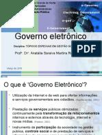 Conjunto de Slides Sobre Governo Eletrônico_2016