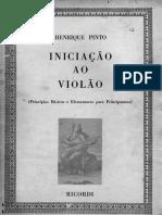 Henrique Pinto - Iniciação ao Violão - Vol I.pdf