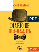 Diario de 1926 - Robert Walser (3)
