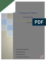 Transporte Público Incluyente (Ensayo)