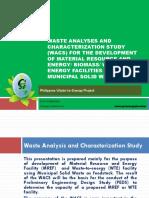 Wasteanalysesandcharacterizationstudywacsforwteproject Greenergysolutions 110607051230 Phpapp01