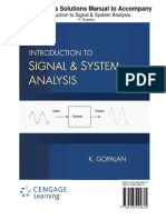 301 Signal & System Analysis Sol