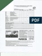 Pauta mantención IVECO A410T38
