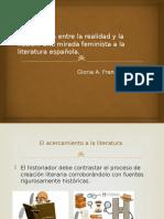 Las Mujeres Entre La Realidad y La Ficción. Una Mirada Feminista a La Literatura Española.