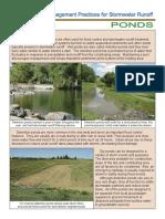 Stormwater - Retention Pond (Wet Pond) vs. Detention Pond (Dry Pond)