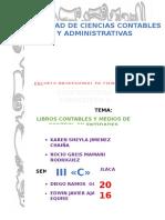 Libros Contables y Medios de Control en Entidades Públicas