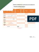 Registro de Medición de Glucosa en La Sangre de Rosalba Orenday Vazquez