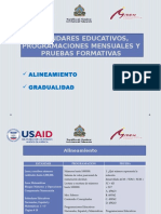 Gradualidad y Alineamiento (2)