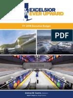 Executive Budget FY 18 Briefing Book