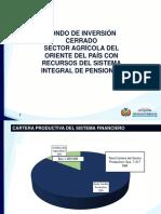 Informe del Ministerio de Economía sobre uso de pensiones para fondo productivo
