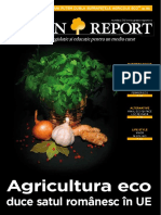 Raport - Agricultura Eco Si Romania
