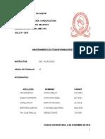 MANTENIMIENTO-TRANSFORMADORES