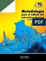 Indice de Riesgo Municipal Bolivia 2012