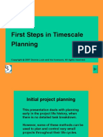 step in timescale planning.ppt