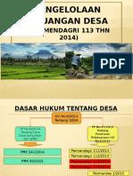 PPT Pengelolaan Keuangan Desa