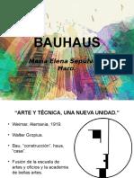 Presentación sobre la Bauhaus