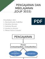 murid dan pembelajaran (edup3033)