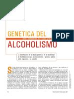 Genética Del Alcoholismo