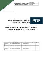 It-06-61 Desmontaje de Conductores, Aisladores y Accesorios