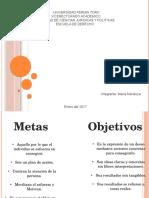 Metas y Objetivos Mapa Maria Mendoza
