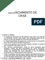 Gerenciamento de Crise ]