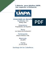 Tarea 4 Unidad IV Propedeutidco de Español (UAPA) 31-05-2016