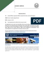 PBO Memo Regarding OOG Grants 1 12 17