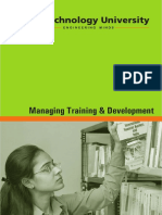 Managing Training & Development