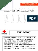 Lesiones Por ExplosionCR