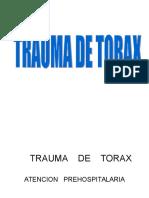 Trauma de Torax1