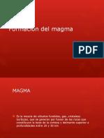 Formacion Del Magma
