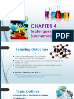 Chap 4 - Biochemical Analysis (Student)