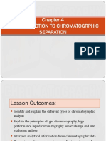 Chapter 4 Intro Chromatography