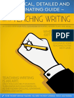 Teaching writing like a pro