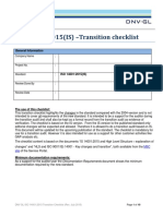 ISO14001 Tranisition Checklist Tcm14 62593