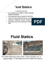 Fluid Statics - Pressure Distribution