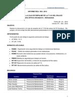 REA 003-2014 Intervención a La Caja de Empalme de La T 124 Del Enlace FO Soc-Moq