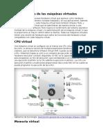 Componentes de Las Máquinas Virtuales