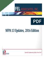 Microsoft PowerPoint - NFPA 13 2016 Presentation