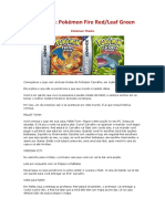 Detonado Pokemon Fire Red e Leaf Green