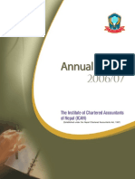 Ican Annual Report 2006 07