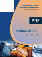 Ican Annual Report 2014 15