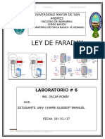 Ley de Faraday lab 6
