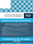 attributes and abilities reflection assignment