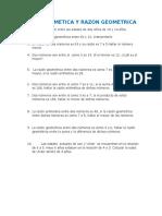 Razones y Proporciones - Ejercicios