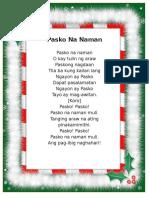 Christmas Song Album