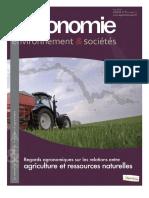 Agriculture et ressources naturelles