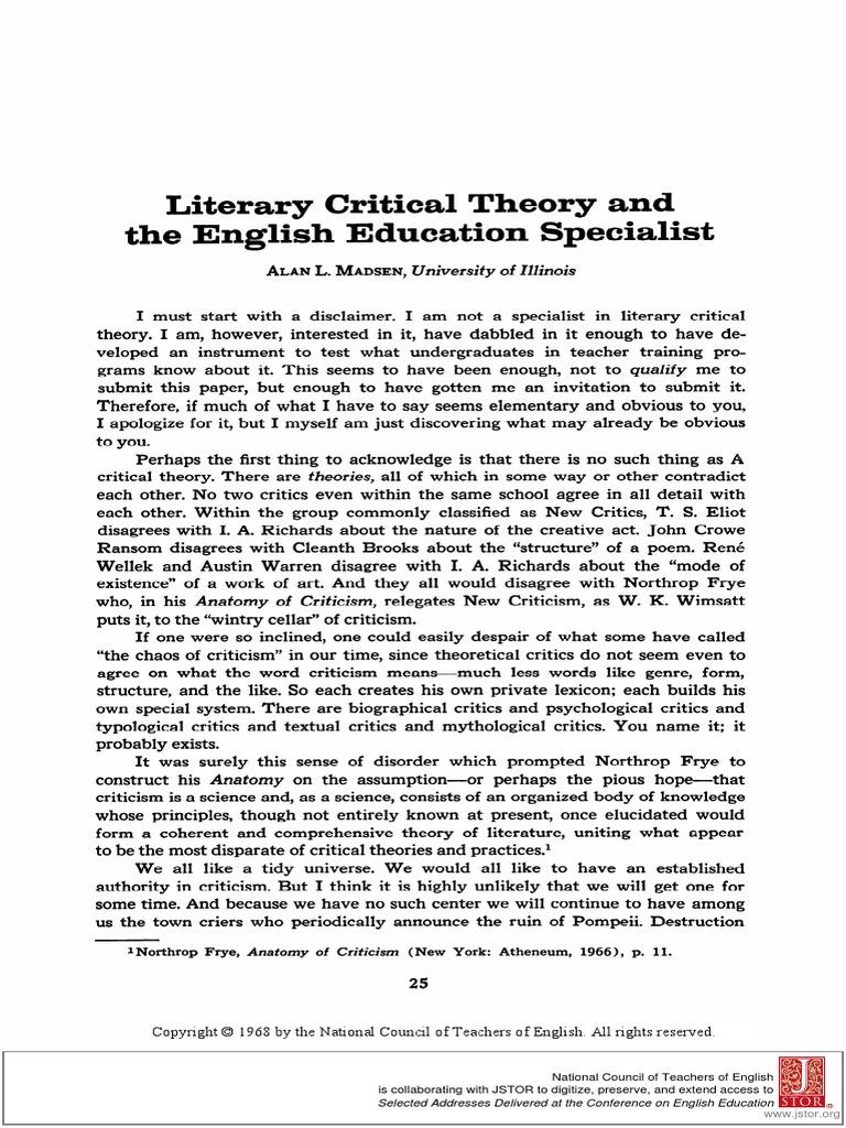 EE1968-1Literary.pdf | Aesthetics | Theory